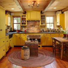 Rustic Kitchen by Real Antique Wood Mill