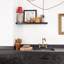 low contrast cabinets/worktop