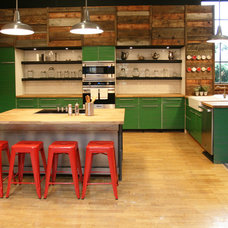 Industrial Kitchen by Jen Chu Design