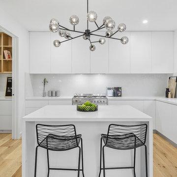 Rear Subdivision Hamptons Inspired Townhouse: Footscray