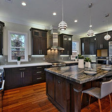 Contemporary Kitchen by Staging Artists