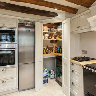 Rustic kitchen in Hampshire.