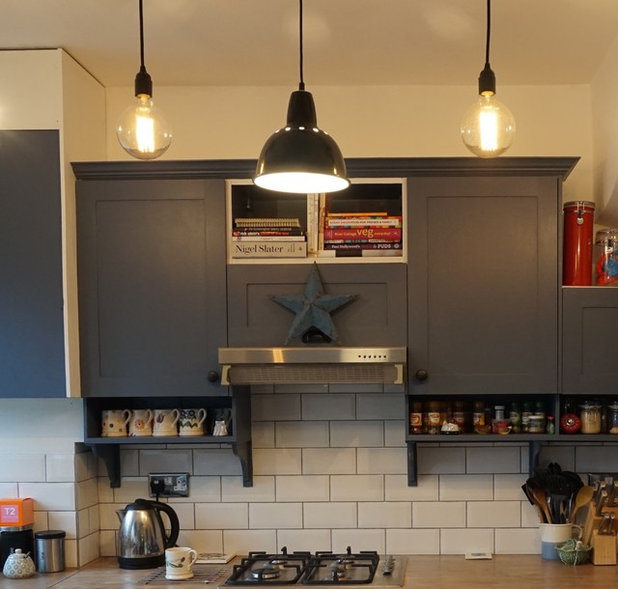 Eclectic Kitchen by Harvey-White Design