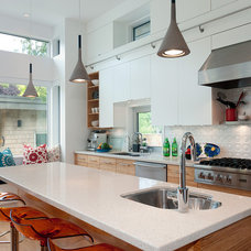 Contemporary Kitchen by blurrdMEDIA