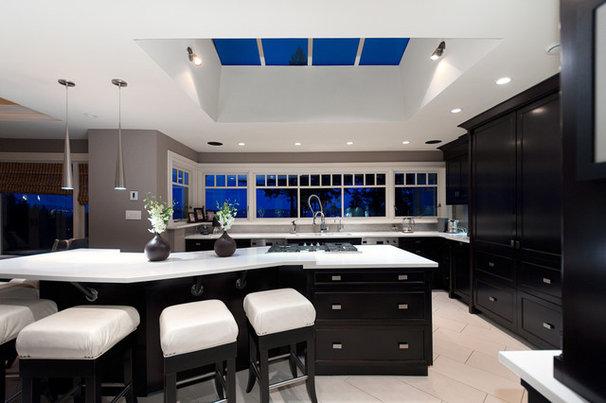 Contemporary Kitchen by blurrdMEDIA