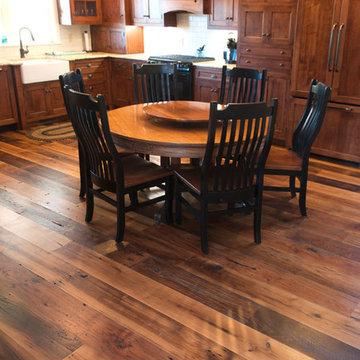 Reclaimed Antique Wormy Chestnut Hardwood Flooring