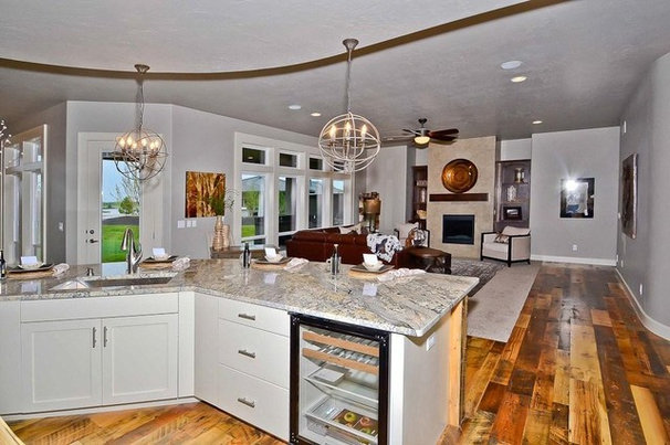 Traditional Kitchen by Reclaimed Lumber Products
