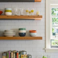 Farmhouse Kitchen by Sicora Design/Build