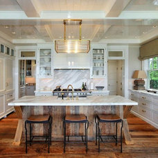 Traditional Kitchen by Riverbend Wood Floor Co. LLC
