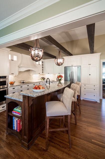 Transitional Kitchen by Sicora Design/Build