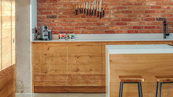 Reclaimed Wood, Industrial Kitchen