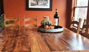 Reclaimed Wood Table with Pipe Legs