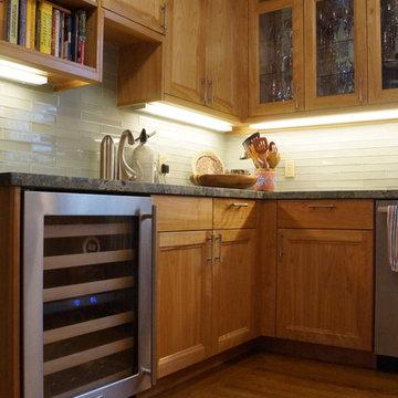 red birch kitchen remodel