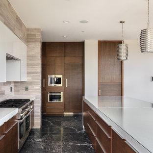 Flat Panel Kitchen Cabinets White Kitchen Appliances Tips