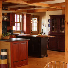 Farmhouse Kitchen by Fine Lines Construction