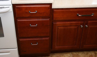Red Cherry Cabinets