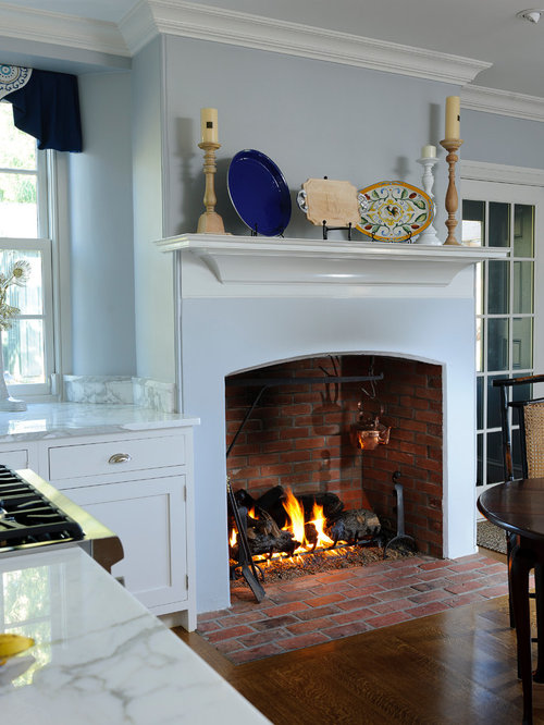 Kitchen Fireplace Design Ideas Amp Remodel Pictures Houzz