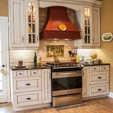 Eclectic Kitchen by Allen Interiors & Design Center Inc