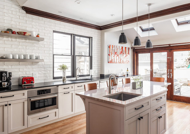 Transitional Kitchen by KitchenVisions