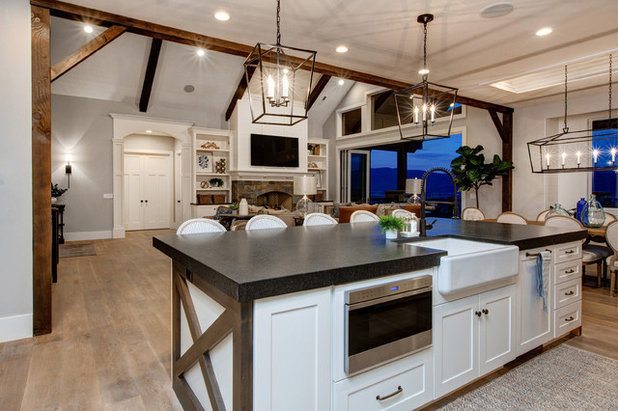 Country Kitchen by Timberidge Custom Homes