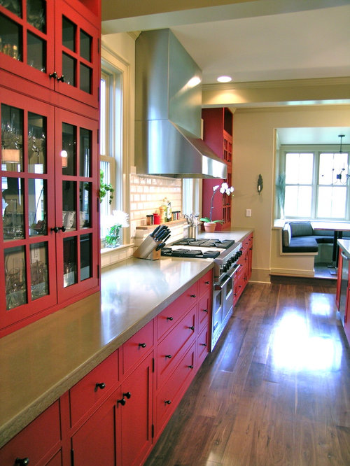 Modern Red Farmhouse Houzz
