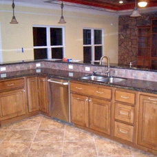 Traditional Kitchen by Brothers Custom Works