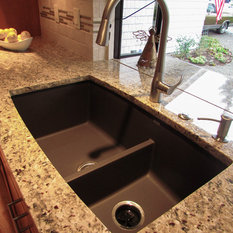 Weu0027ve Now Installed Several Of These Blanco Sinks In Recent Renovations.  This Oneu0027s Color Is Cafe Brown, Which Looks Gorgeous With The Other  Finishes In ...