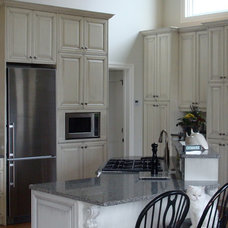 Traditional Kitchen Cabinetry by The Cabinet Shoppe