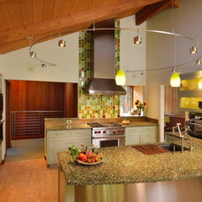 modern kitchen by A D Construction
