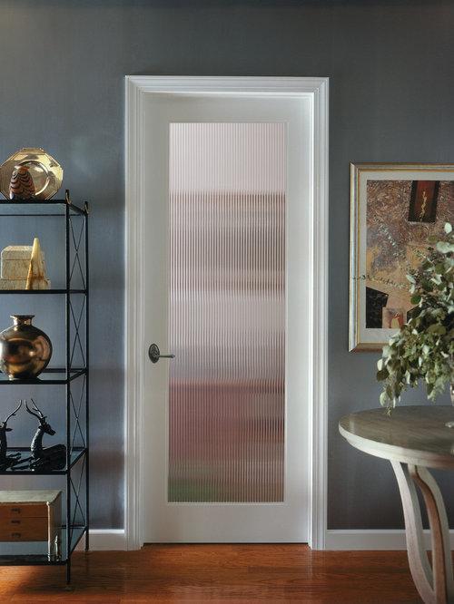 Ex&le of a classic kitchen design in Sacramento & Decorative Interior Door   Houzz Pezcame.Com