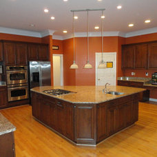 Modern Kitchen by The Cabinet Restoration Company LLC