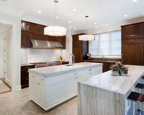 Waterfall Granite Countertop Home Design Ideas Pictures