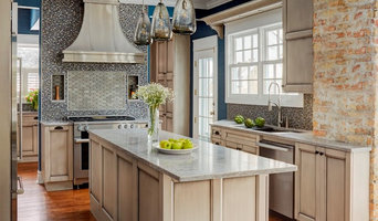 Refined Dusk Grey Custom Kitchen in Winnetka
