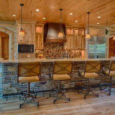 Rustic Kitchen by Destree Design Architects, Inc.