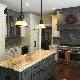 Refined Organic - The Gray & Copper Hued Kitchen