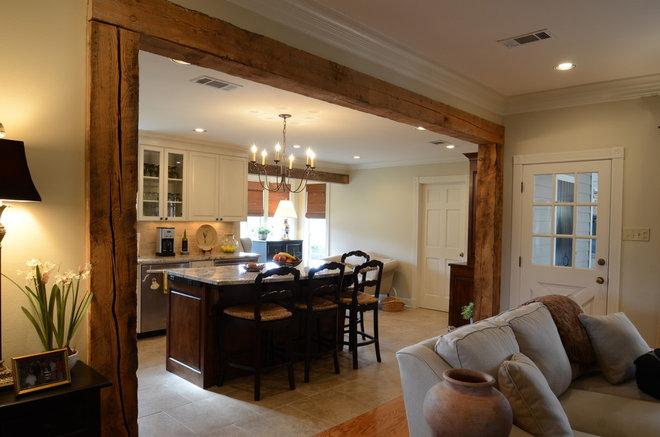 Farmhouse Kitchen by Ourso Designs