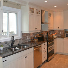 Contemporary Kitchen by Lisa Goulet Design
