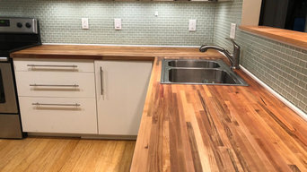 Refinishing Butcher Block Counters