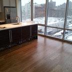 HGTV Home Cassandra Blown Glass Mini Pendant Modern Kitchen Island Lighting - Modern - Kitchen ...