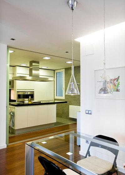 C mo iluminar una cocina las claves seg n cuatro expertos - Iluminacion en cocinas modernas ...