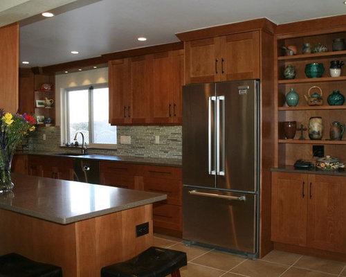 Asian albuquerque kitchen design ideas remodel pictures for Albuquerque kitchen cabinets