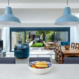Design ideas for a modern kitchen in London.