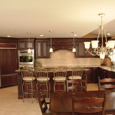 Traditional Kitchen by Cranbury Design Center LLC