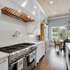 Pacific Beach Home With Riverstone Seine Wood Floors
