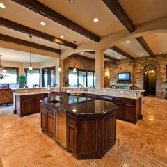mediterranean kitchen by JMC Designs llc