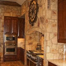 Mediterranean Kitchen by JMC Designs llc