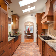 Traditional Kitchen by Monica Ledesma Design