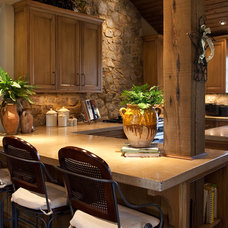 Traditional Kitchen by Studio C Architecture & Interiors