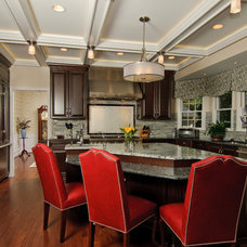 Transitional Kitchen by Sun Design Remodeling Specialists, Inc.