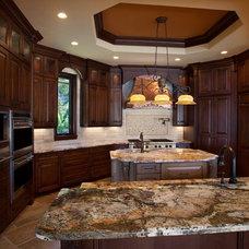 Mediterranean Kitchen by Konkol Custom Homes & Remodeling, LLC